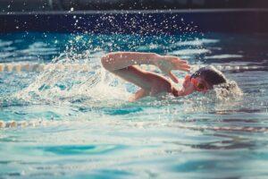 confidence through swimming